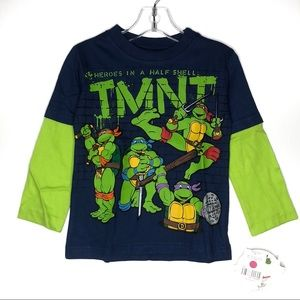 TMNT Classic Graphic Long Sleeves T-Shirt 2T
